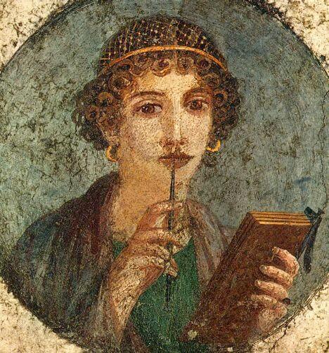 Поэтесса Сапфо