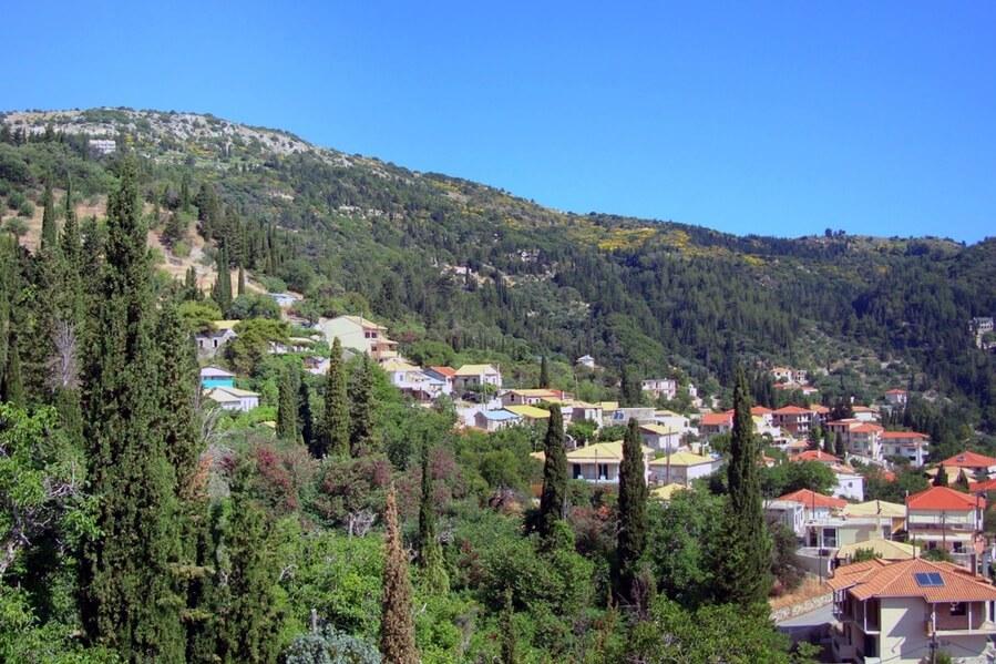 Карии - деревушка в горах