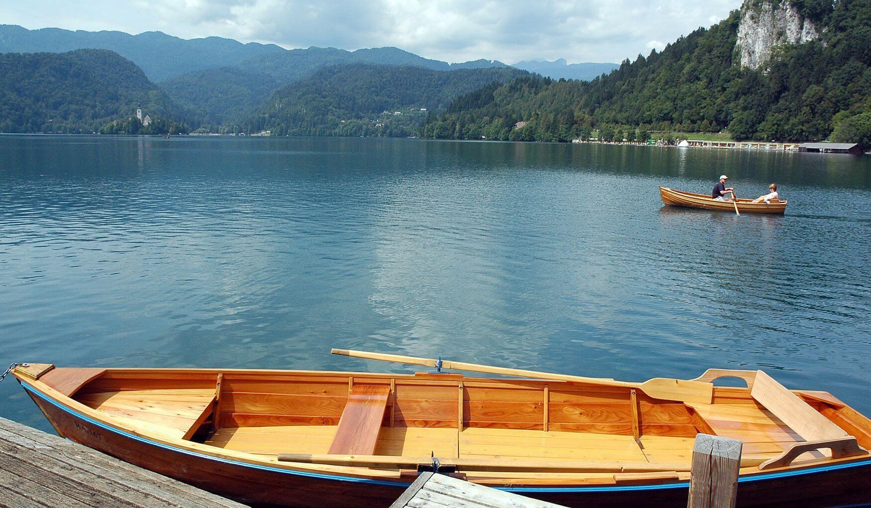 Активный отдых на озере Блед