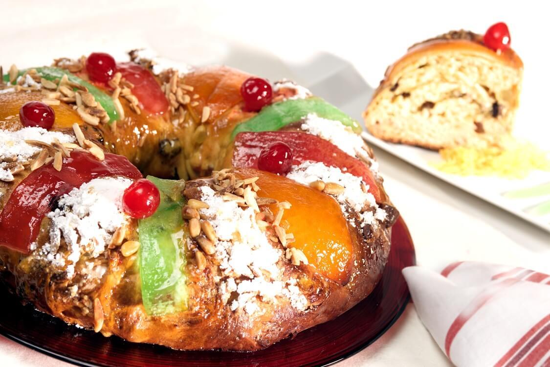 Королевский пирог Bolo Rei