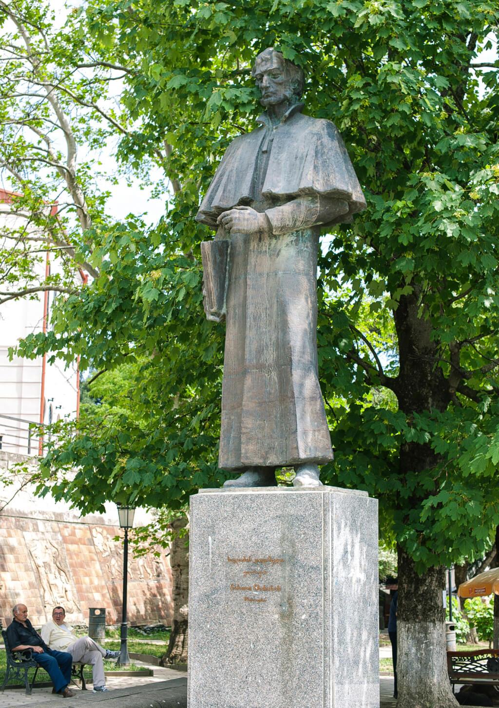 Статуя Соломона Додашвили