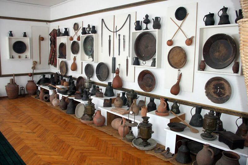 Музей истории и этнографии в Сигнахи