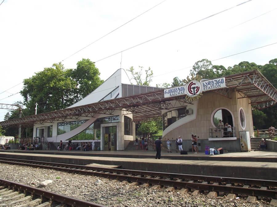 ЖД станция Уреки