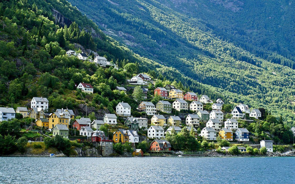 Город Одда, Норвегия