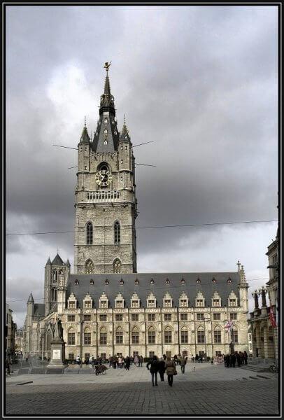 Башня в Генте