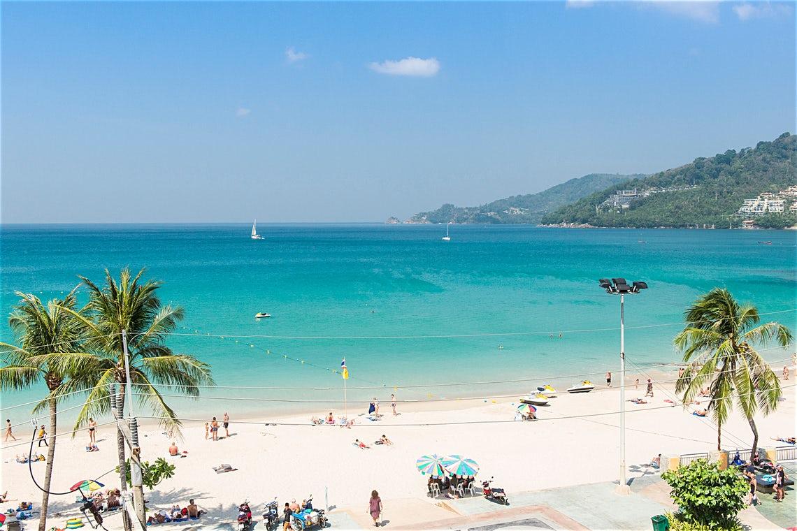 Таиланд, пляж острова Пхукет