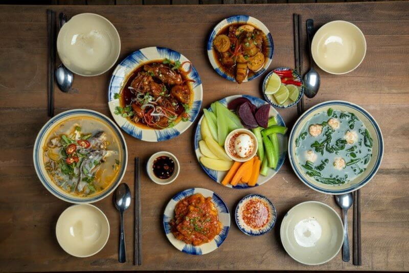 Фото: блюда ресторана