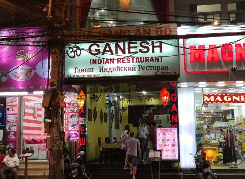 Ресторан Ганеш в Нячанге