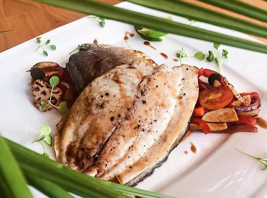 Рыбное блюдо в TakiDa