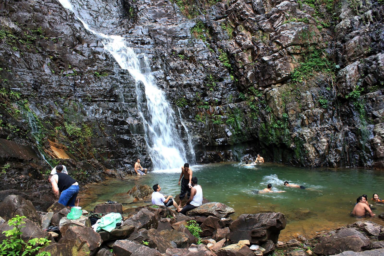 Один из водопадов на острове Лангкави