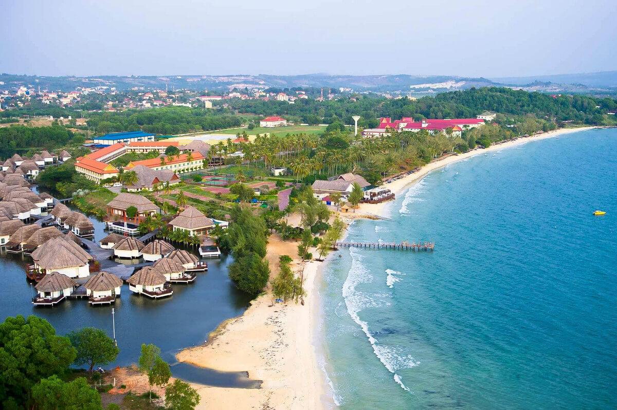 Сиануквиль город на побережье Камбоджи