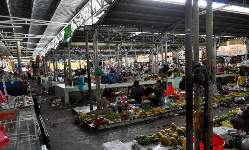 Рынок Ксом Мой (Xom Moi Market)