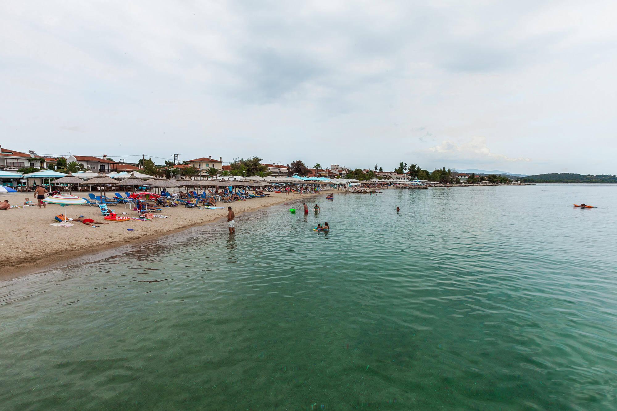 Пляж Никити, Халкидики