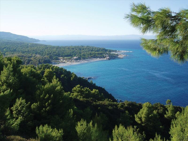 Вид с горы Итамос