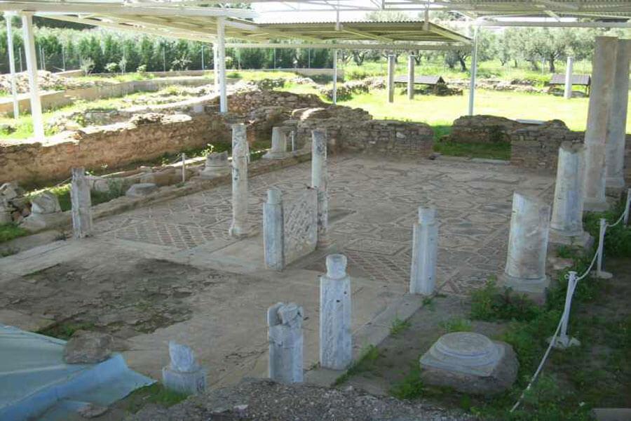 Раскопки базилики Святого Софрония