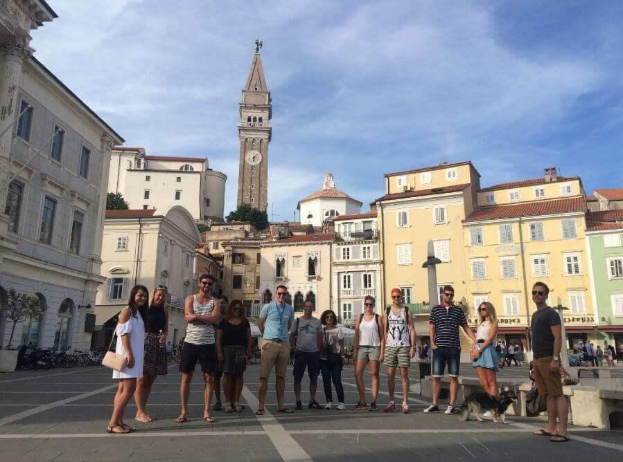 Пешеходный тур по Пирану, Словения