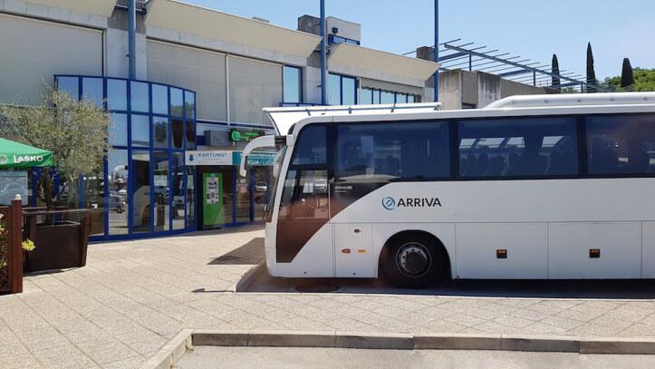 Автобус до Пирана