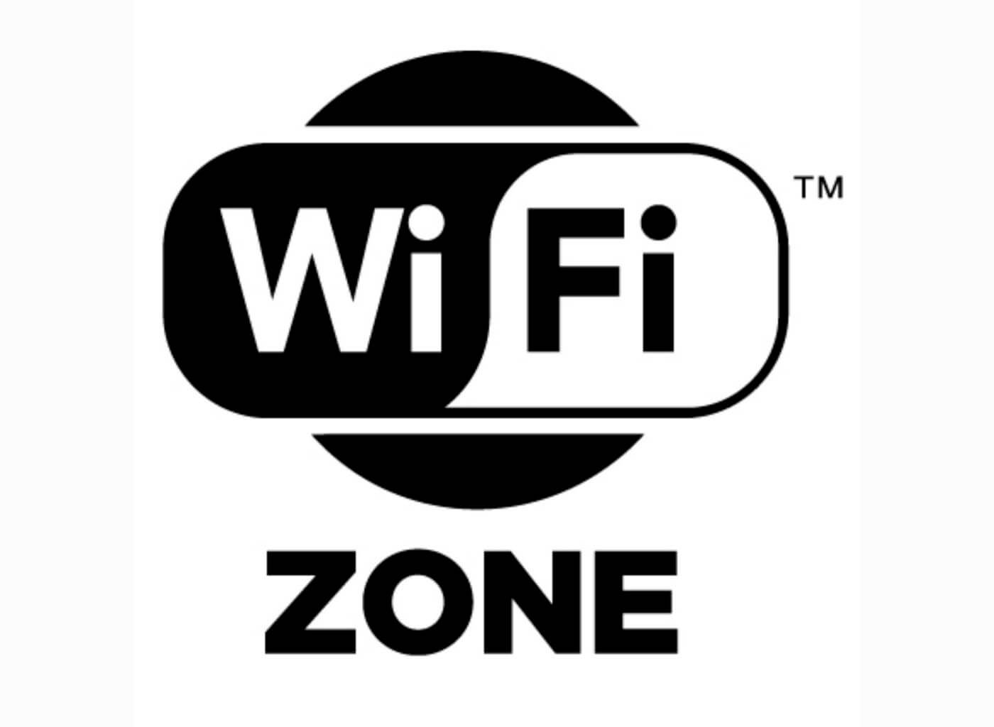 Знак беспроводного интернета