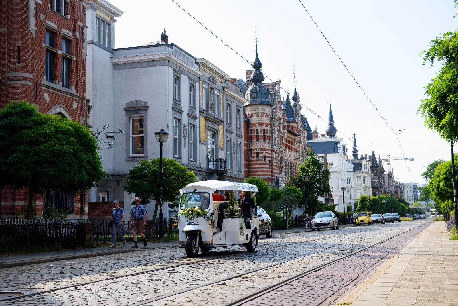 Улица Cogels – Osylei в районе Zurenborg