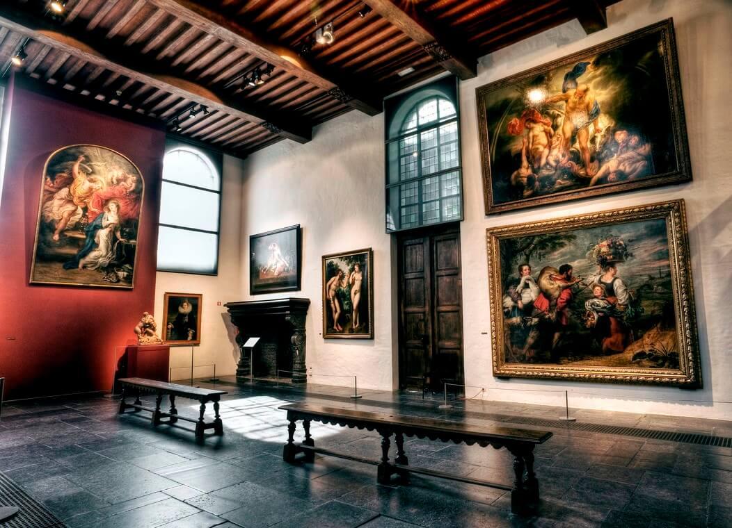 Павильон в доме-музее Рубенса