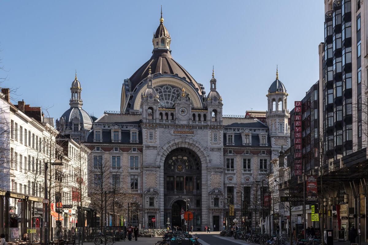 Центральный железнодорожный вокзал Антверпен