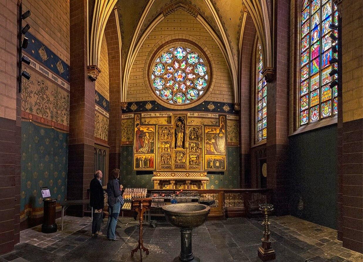В соборе Антверпенской Девы Марии