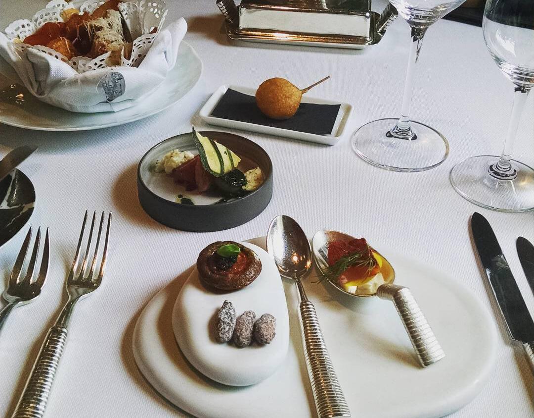 В ресторане De Karmeliet, обладателе 3 звезд Мишлена в Брюгге, Бельгия