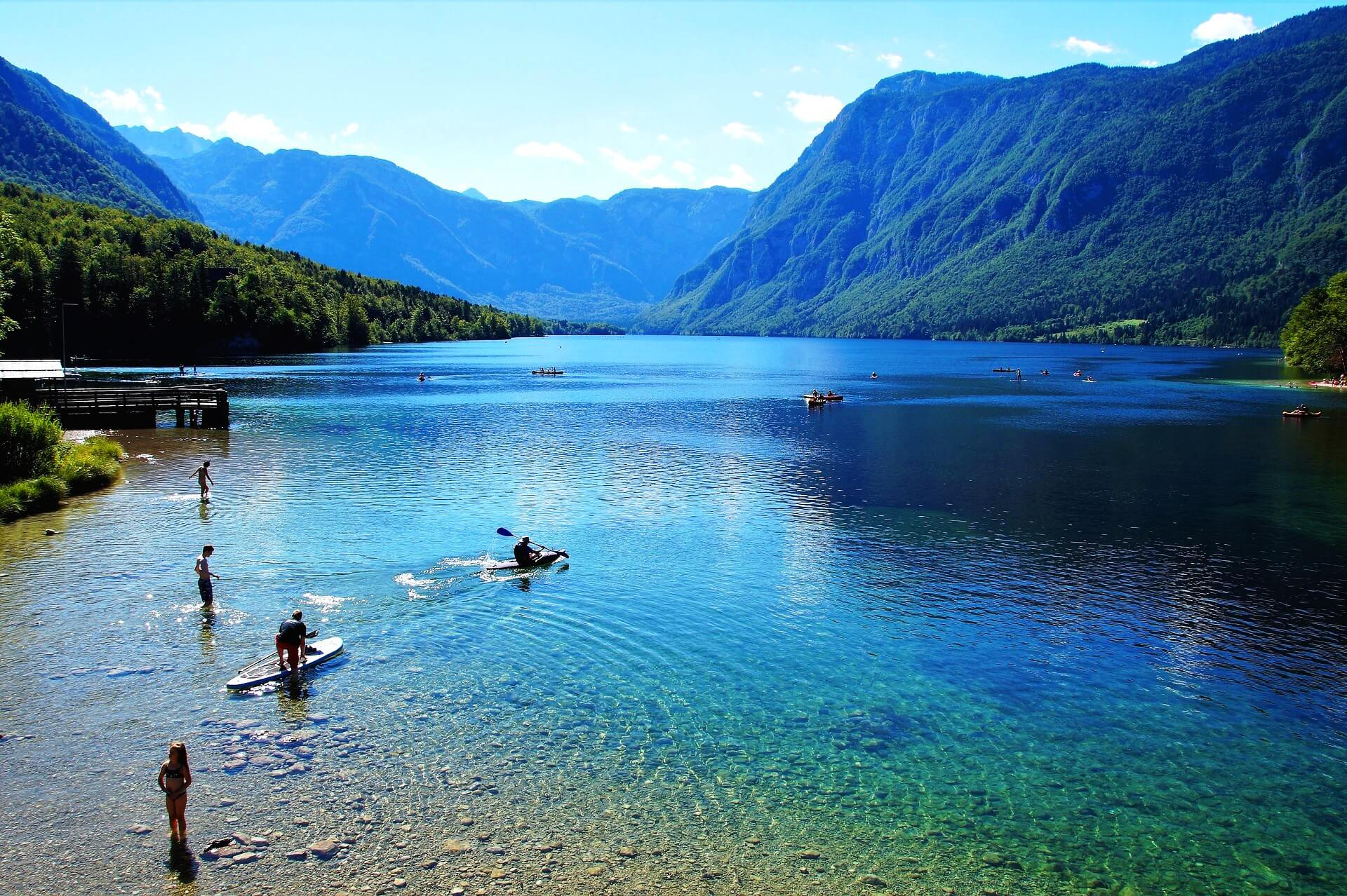 Озеро Бохинь – крупнейшее озеро в Словении