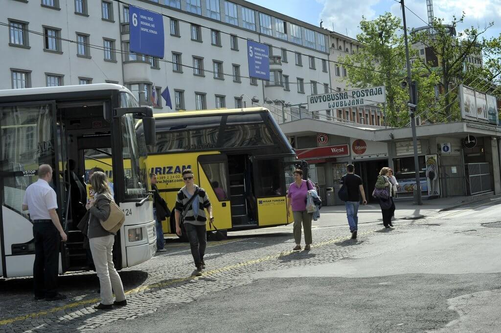 Автостанция Любляны