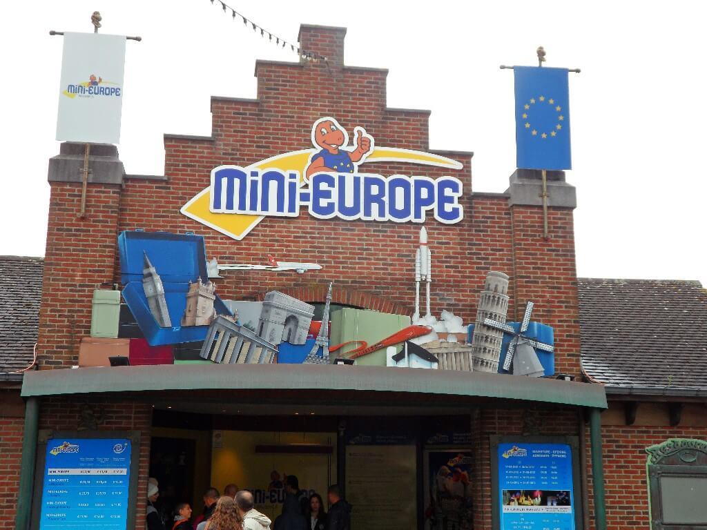 Вход в парк Мини Европа
