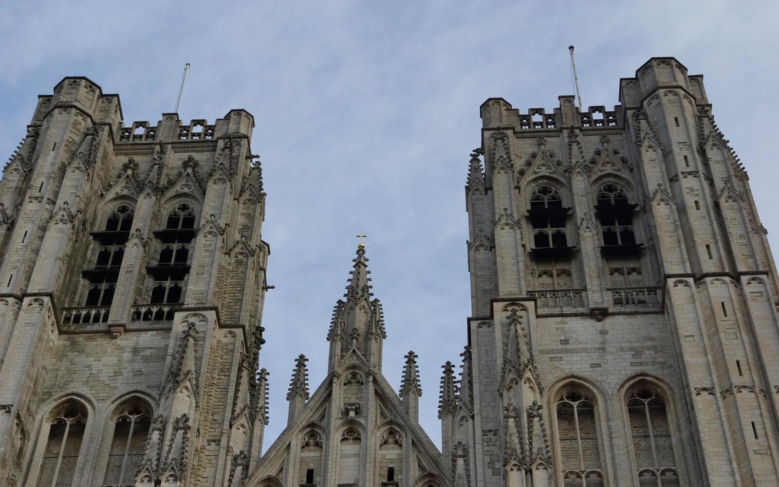 Две башни фасада спроектированы Яном ван Рёйсбруком