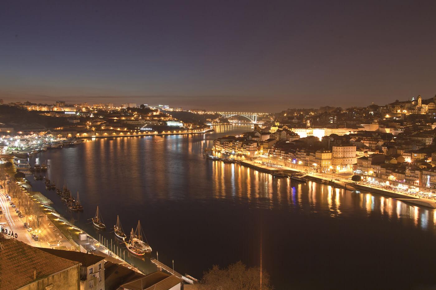 Фото вида с моста Дона Луиша