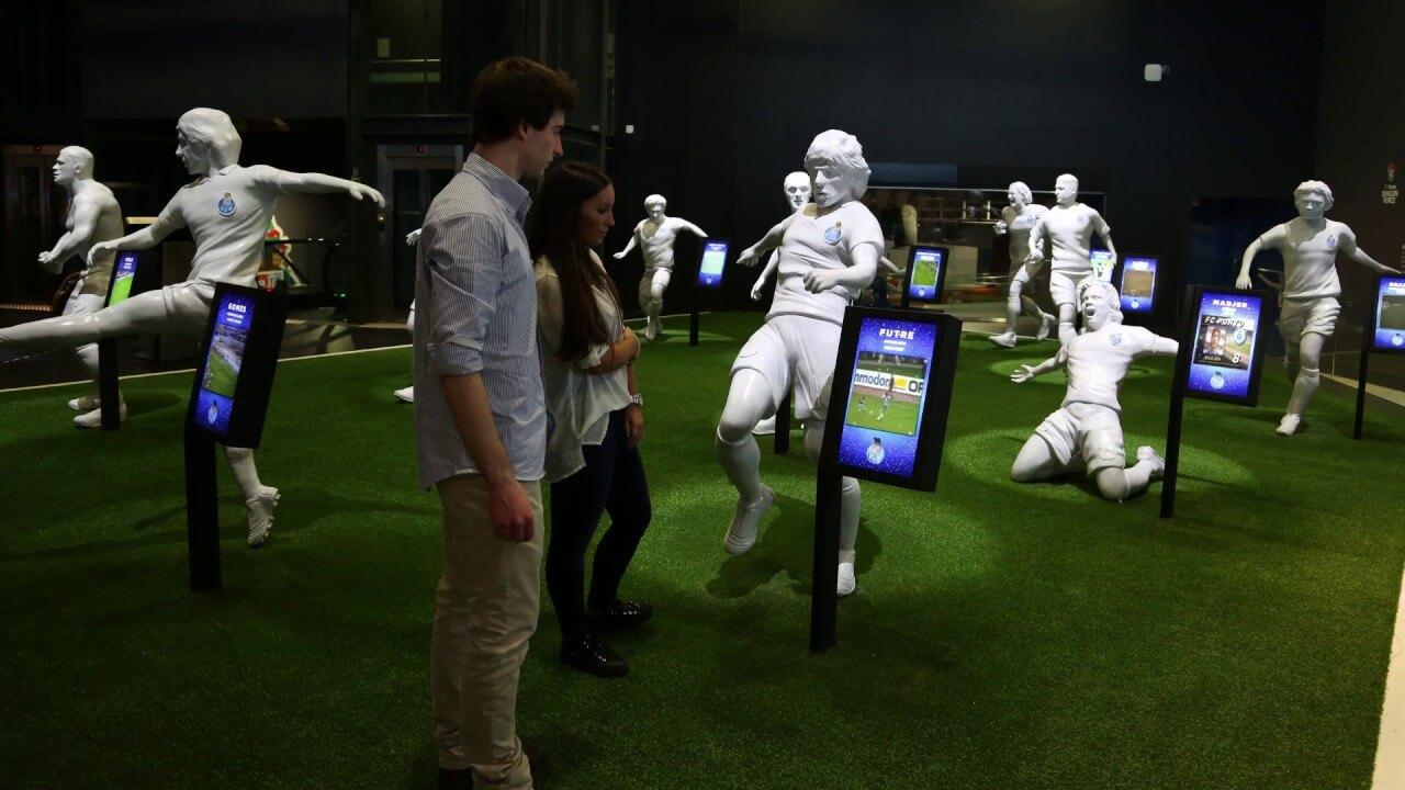Посещение музея FC Porto Museum