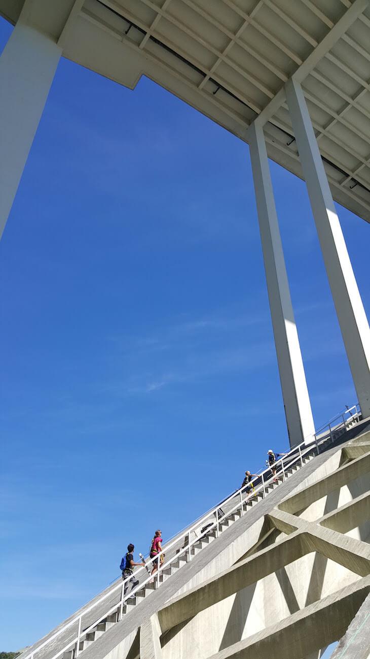 Покорение моста Аррабида на экскурсии Porto Bridge Climb