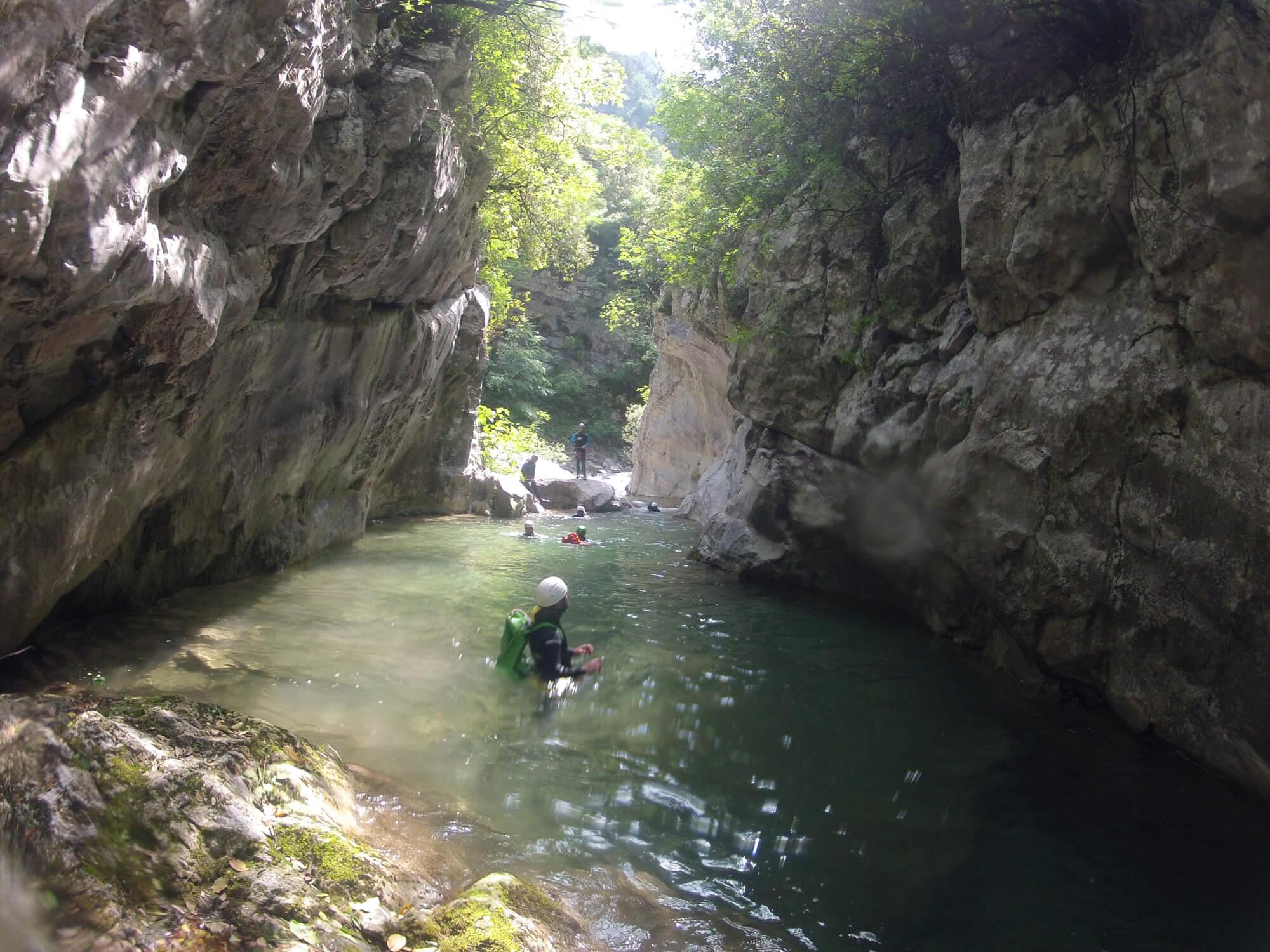 Каньонинг в Салониках