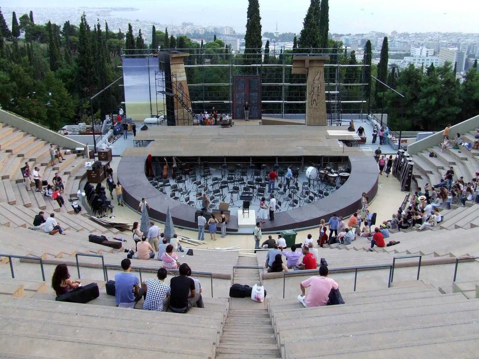 Лесной Театр или Theatro Dassous