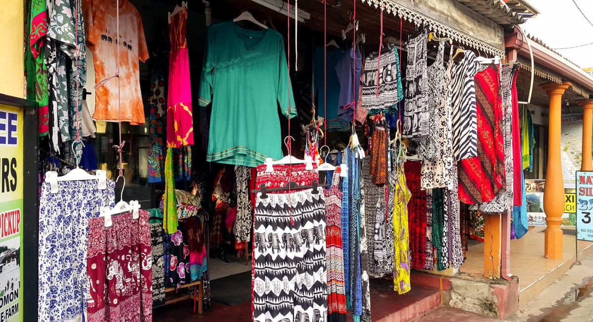 Национальная одежда Шри-Ланки
