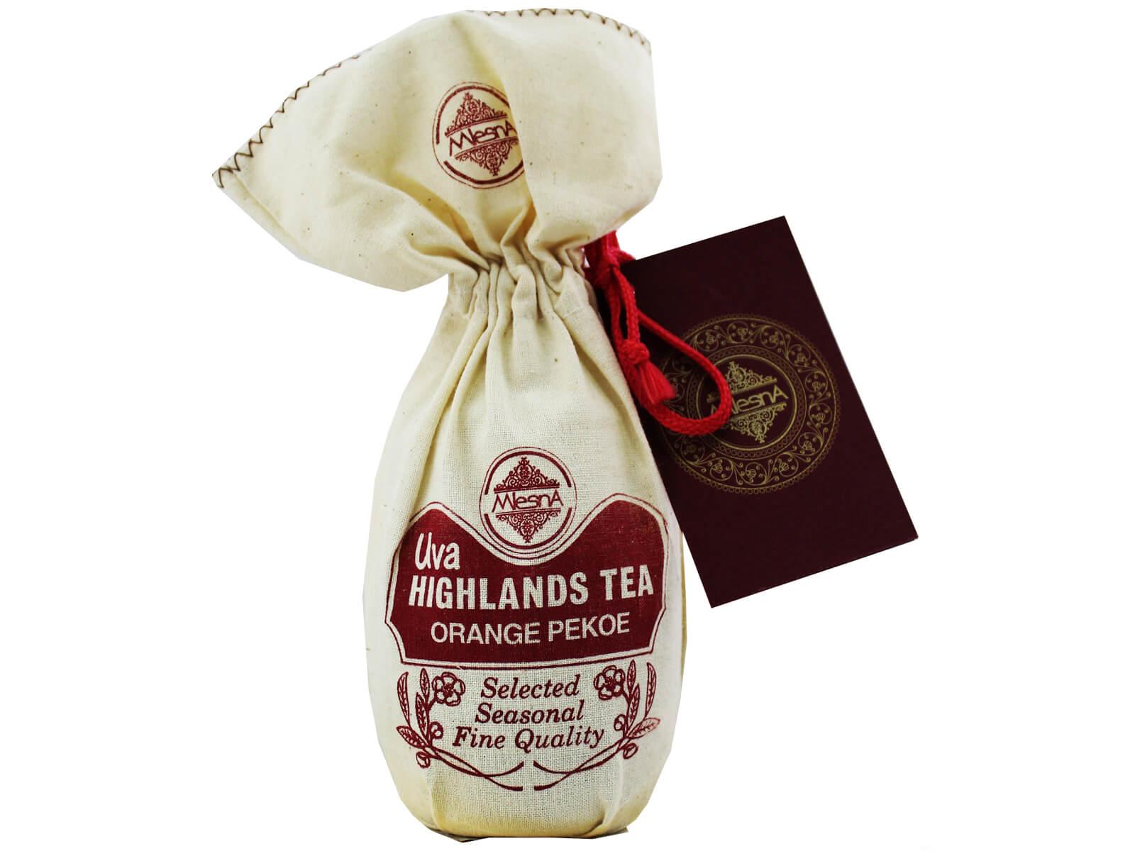 Упаковку чая «Mlesna»