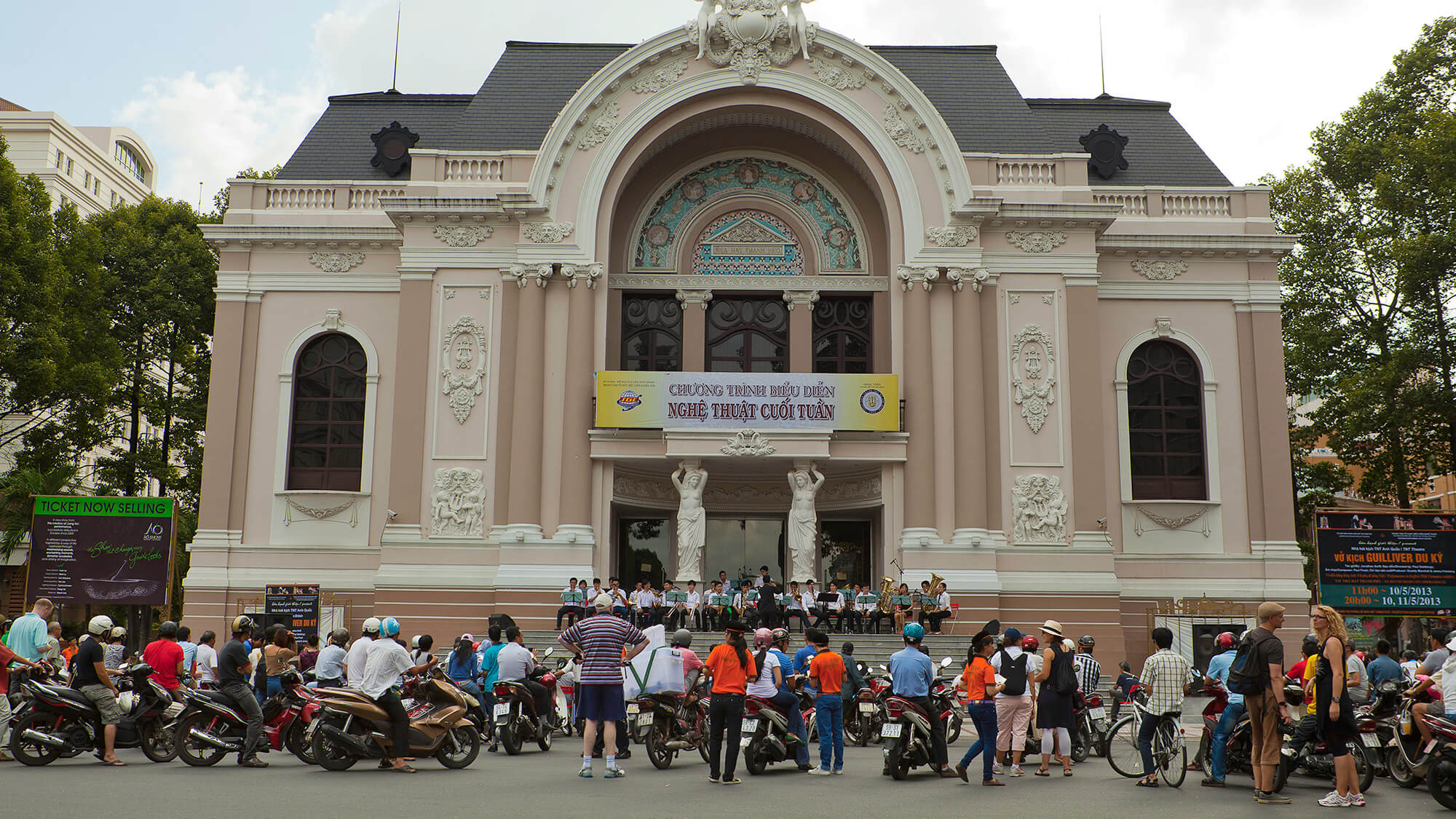 Муниципальный театр Saigon Opera House
