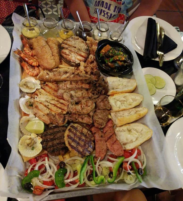 Ужин в ресторане MIX restaurant