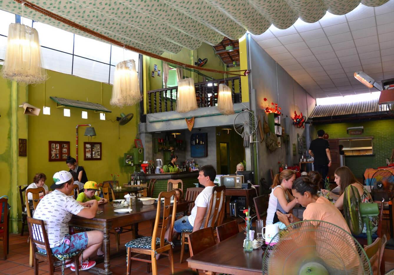 В ресторане MIX restaurant