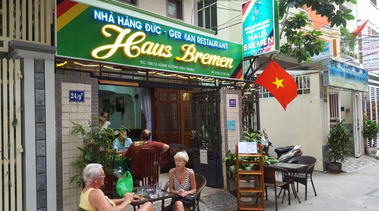 Типичный немецкий ресторан German Restaurant Haus Bremen