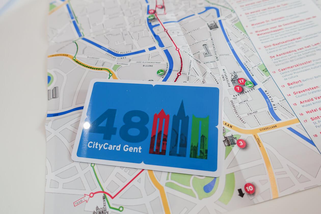 Карта Сity Card Gent