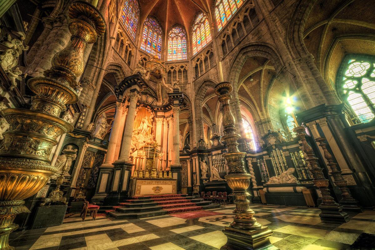 В Кафедральном соборе Св. Бавона