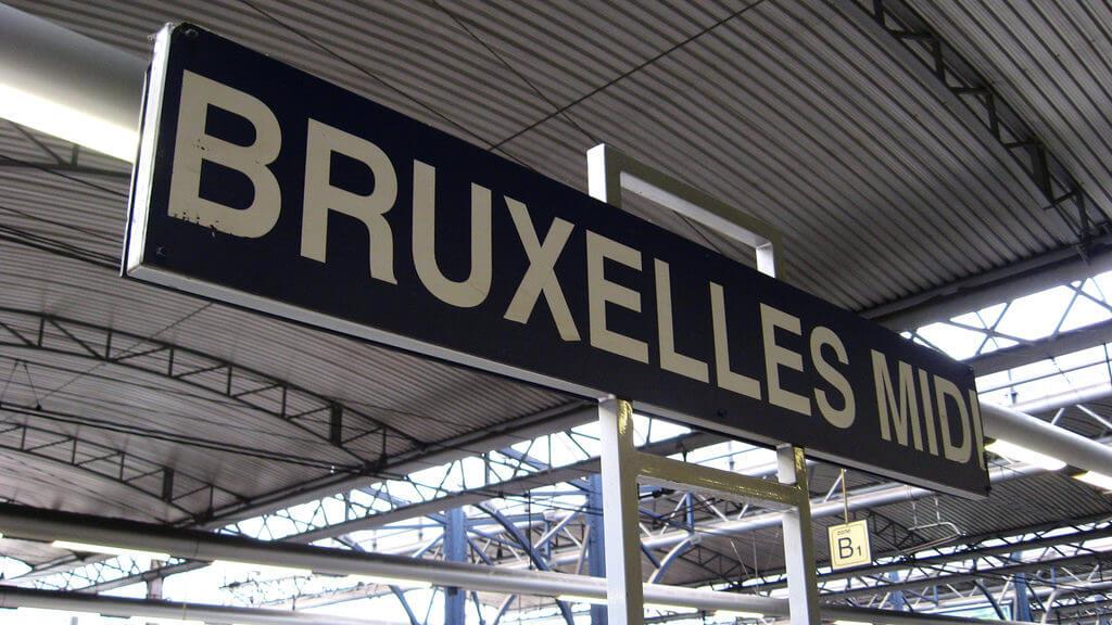 Станция Bruxelles-Midi