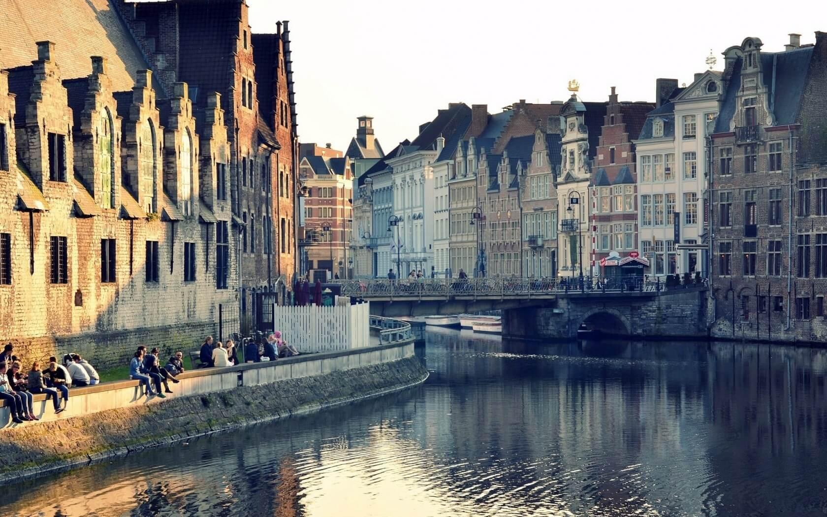 Гент столица - Фландри, территориальной единицы Бельгии