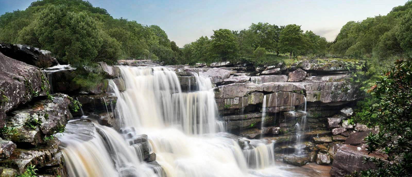 Водопад Попоквил