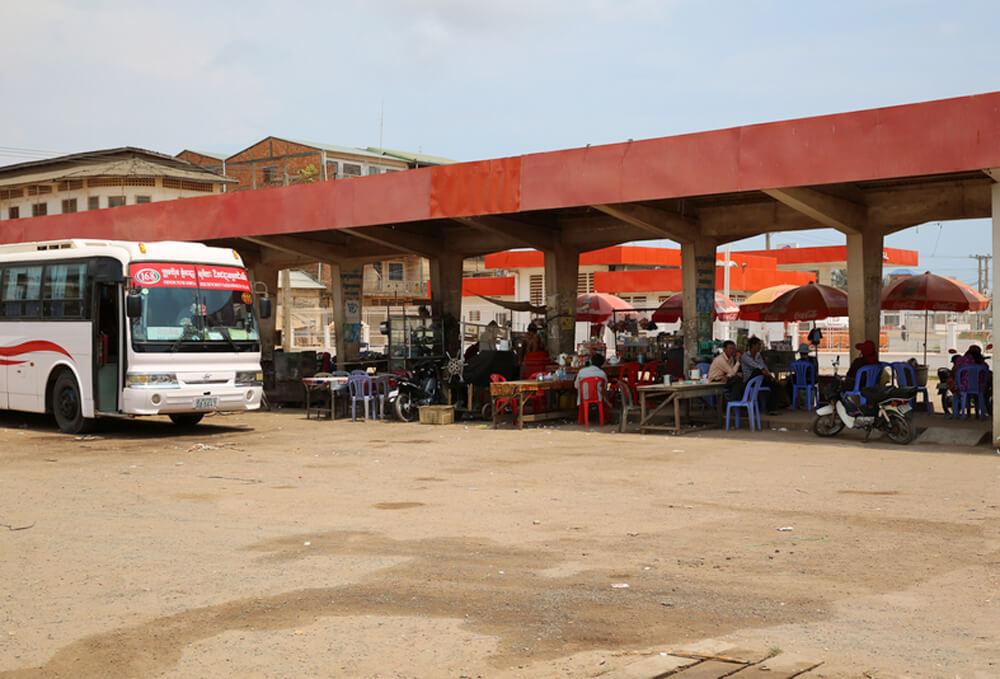 Автобусная станция в Кампоте