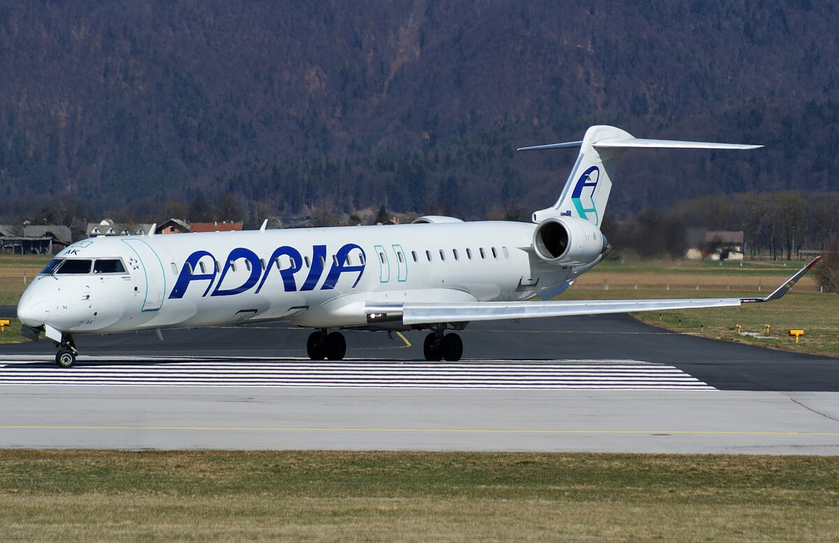 Словенская авиакомпания Adria Airways