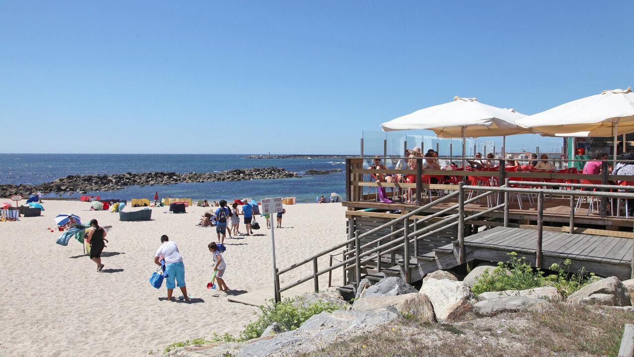 Пляж Vila do Conde Porto